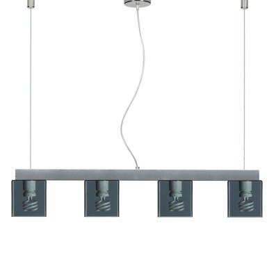 Emporium - Didodado - Didodado barra 1 - Pendant lamp - Fumé - LS-EM-CL447-98
