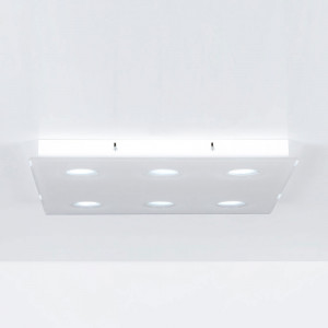 Emporium - Domino - Domino PL 6 - Ceiling lamp with six lights