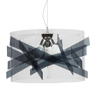Emporium - Kartika - Bibang maxi - Pendant lamp - Fumé - LS-EM-CL528-98
