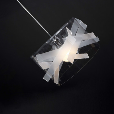 Emporium - Kartika - Bibang maxi - Pendant lamp - Satin white - LS-EM-CL528-12