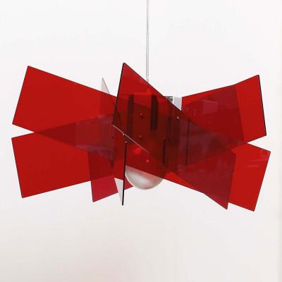 Emporium - Kartika - Kartika S - Pendant lamp - Red - LS-EM-CL137-51