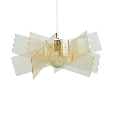 Emporium - Kartika - Kartika S - Pendant lamp - Texture Gold - LS-EM-CL138-58