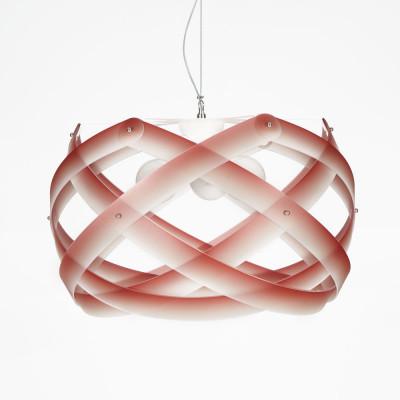 Emporium - Nuclea - Nuclea maxi - Pendant lamp - Red - LS-EM-CL869-53