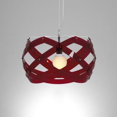 Emporium - Nuclea - Nuclea mini - Pendant lamp - Red - LS-EM-CL127-51