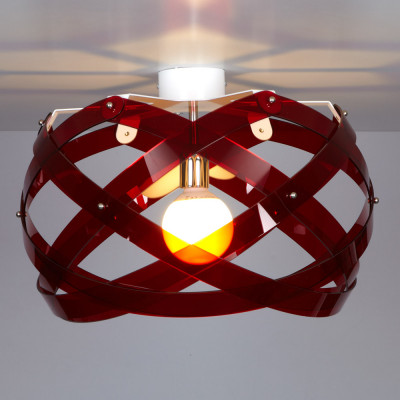 Emporium - Nuclea - Nuclea up B - Ceiling lamp - Red - LS-EM-CL454-51