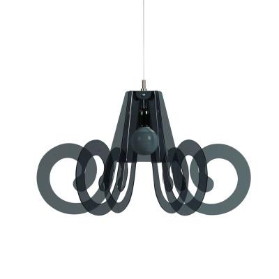 Emporium - Riccia - Ricciolino - Pendant lamp - Fumé - LS-EM-CL908-98
