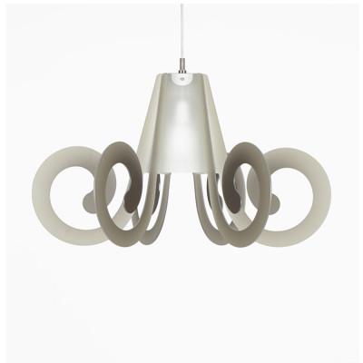 Emporium - Riccia - Ricciolino - Pendant lamp - Grey - LS-EM-CL876-91