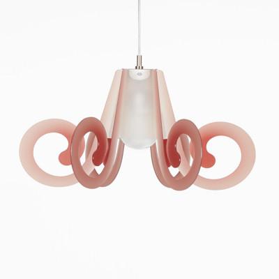 Emporium - Riccia - Ricciolino - Pendant lamp - Red - LS-EM-CL876-53