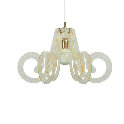 Emporium - Riccia - Ricciolino - Pendant lamp - Texture Gold - LS-EM-CL925-58