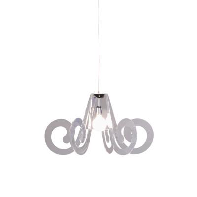 Emporium - Riccia - Ricciolino - Pendant lamp - Transparent - LS-EM-CL908-11