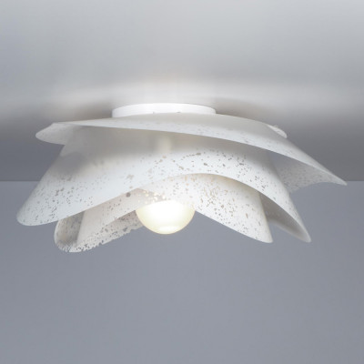 Emporium - Rosa - Rosa S - Ceiling lamp / Applique - Satin white - LS-EM-CL479-10