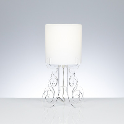 Emporium - Truciolo - Truciolo S - Table lamp - Transparent - LS-EM-CL189-11