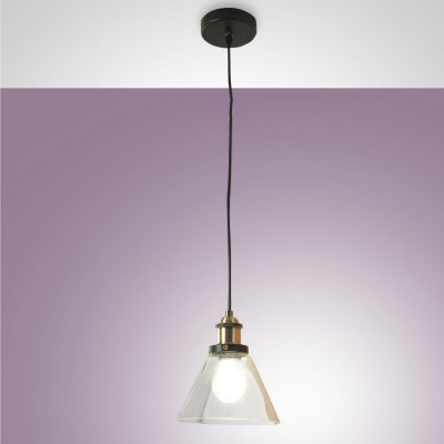 Fabas Luce - Blen - Blen SP - Glass chandelier - Transparent - LS-FL-3499-40-241