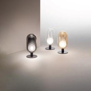 Fabas Luce - Classic Vintage - Gubbio TL - Glass table lamp