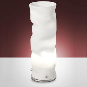 Fabas Luce - Melt - Melt TL S - Nickel-finished floor lamp