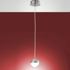 Fabas Luce - Melville - Melville SP S - Suspension with spherical diffuser