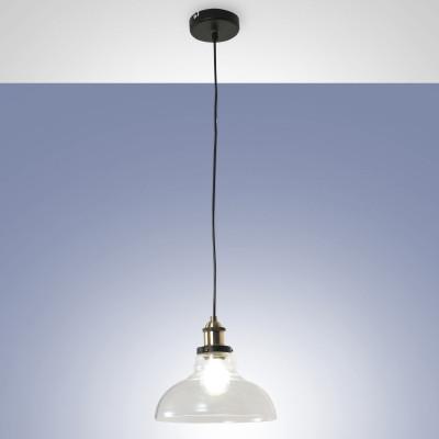 Fabas Luce - Olos - Olos SP - Suspension lamp vintage - Transparent - LS-FL-3494-40-241