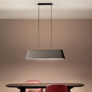 Fabas Luce - Soft - Allegra SP L - Textile chandelier
