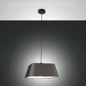 Fabas Luce - Soft - Allegra SP S - Textile chandelier