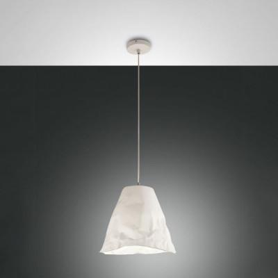 Fabas Luce - Soft - Crumple SP - Design chandelier - White - LS-FL-3535-40-102