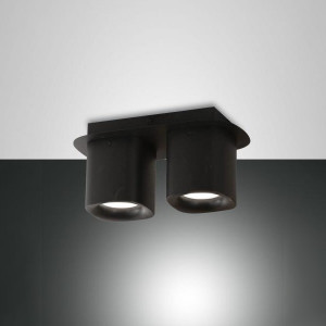 Fabas Luce - Soul - Smooth PL 2L - Two light modern ceiling lamp