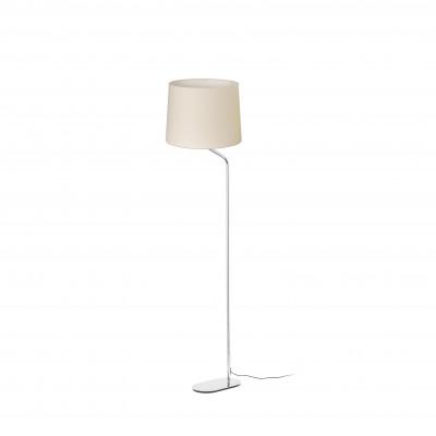 Faro - Indoor - Essential - Eterna PT - Metal floor lamp with lampshade - Beige - LS-FR-24009-2P0132