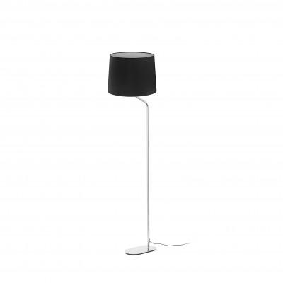 Faro - Indoor - Essential - Eterna PT - Metal floor lamp with lampshade - Black - LS-FR-24009-2P0133