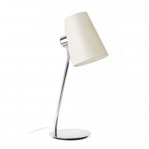 Faro - Indoor - Hotelerie - Lupe TL - Table lamp with fabric lampshade