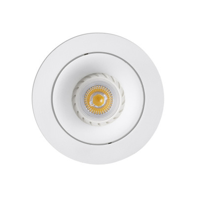 Faro - Indoor - Incasso - Argon FA 1L Round - Ceiling spotlight - White - LS-FR-43401