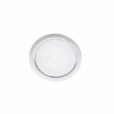 Faro - Indoor - Incasso - Led Mini FA - LED recessed spotlight - Chrome -  - Warm white - 3000 K - Diffused