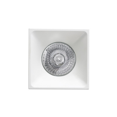 Faro - Indoor - Incasso - Neon FA square - Squared recessed spotlight - White - LS-FR-43400