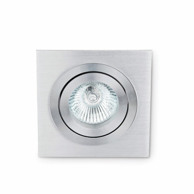 Faro - Indoor - Incasso - Plano FA 1L - Ceiling or wall spotlight with 1 light - Brushed aluminum - LS-FR-43382