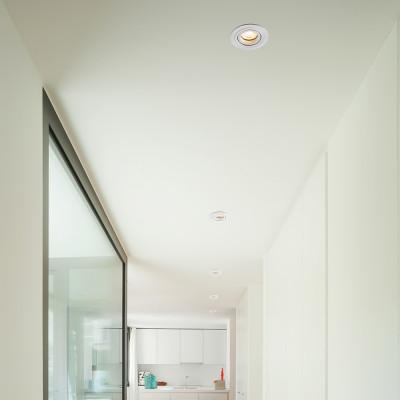 Faro - Indoor - Incasso - Radon FA 1L Round - Round recessed spotlight for wall or ceiling