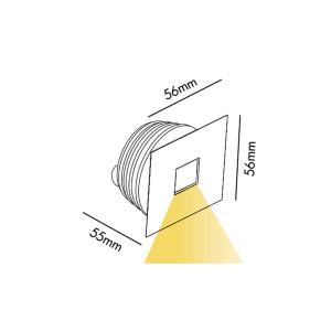 Faro - Indoor - Incasso - Signal RE BOX LED - Outdoor recessed spotlight