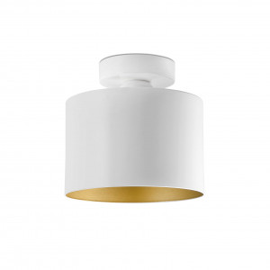 Faro - Indoor - Modern lights - Janet PL - Ceiling lamp with colored interior