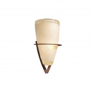 Faro - Indoor - Rustic - Cono AP - Wall lamp with conical shape