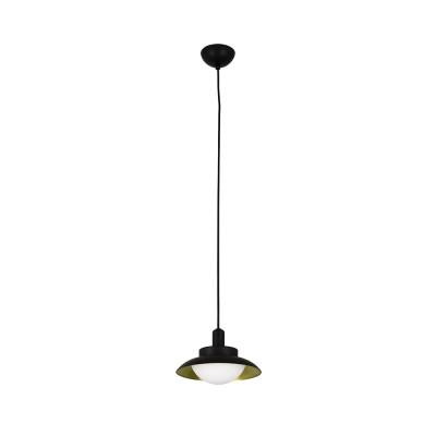 Faro - Indoor - Whizz - Side SP  LED - LED pendant lamp - Black/Gold - LS-FR-62138