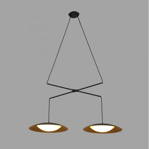 Faro - Indoor - Whizz - Slim-2 SP LED - Modern chandelier with two light