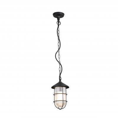 Faro - Outdoor - Estoril - Honey SP - Rustic style outdoor chandelier - Black - LS-FR-73696