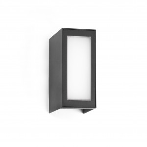 Faro - Outdoor - Klamp - Log AP LED - Double emission outdoor wall lamp