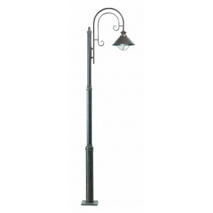 Faro - Outdoor - Nautica - Nautica 1L PT - Outood LED bollard with one light in rustic style
