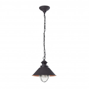 Faro - Outdoor - Nautica - Nautica 1L SP S  - Rustic chandelier for outdoors small