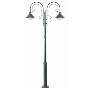 Faro - Outdoor - Nautica - Nautica 2L PT - Outood bollard with two lights
