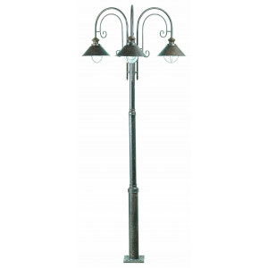 Faro - Outdoor - Nautica - Nautica 3L PT - Outood bollard with three lights