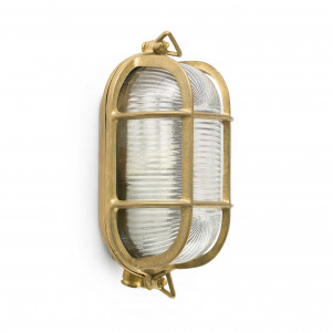 Faro - Outdoor - Ottone - Cabo AP - Wall lamp in brass for outdoor