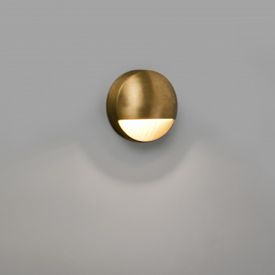 Faro - Outdoor - Ottone - Drak LED AP - Outdoor brass wall lamp - Brass - LS-FR-72330 - Warm white - 3000 K - Diffused