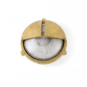 Faro - Outdoor - Ottone - Timon AP - Outdoor wall lamp in brass