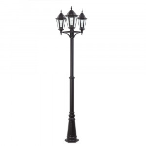 Faro - Outdoor - Paris - Paris PT 3L - Outdoor pole lamp 3 lights classic style