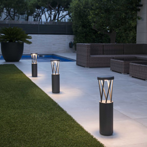 Faro - Outdoor - Shadow - Twist-500 LED TE - Design pole for pathways and gardens