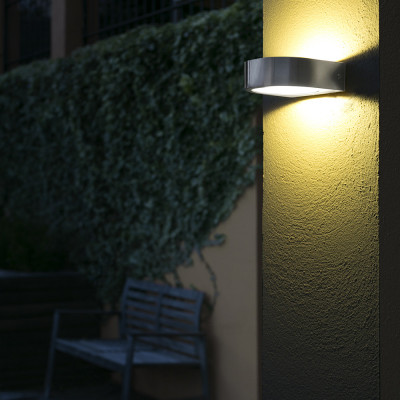 Faro - Outdoor - Sun - Kami AP LED - Outdoor LED wall lamp with double light emission